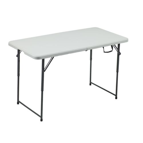 Academy Sports + Outdoors 4 Ft Adjustable Folding Table
