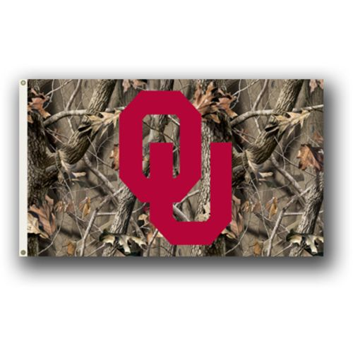 BSI University of Oklahoma Realtree Camo 3' x 5' Flag