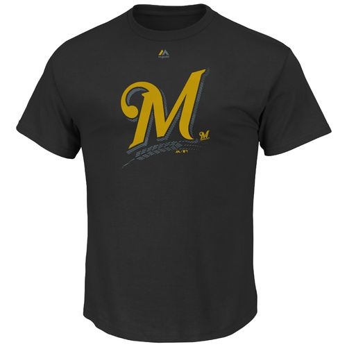 Majestic Men's Milwaukee Brewers Superior Play T-shirt