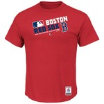 Majestic Men's Boston Red Sox On Field Team Choice T-shirt