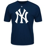 Majestic Men's New York Yankees Synthetic Official Logo T-shirt