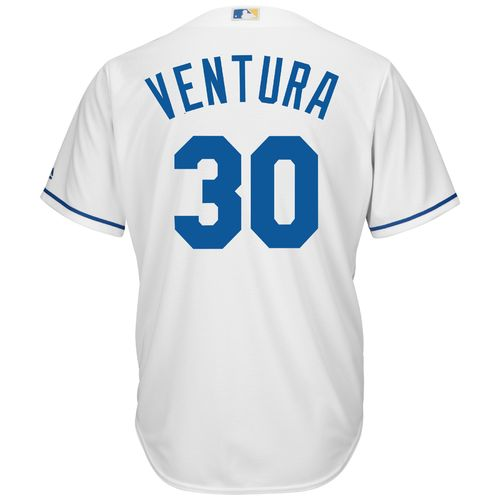 Majestic Men's Kansas City Royals Yordano Ventura #30 Cool Base Replica Jersey