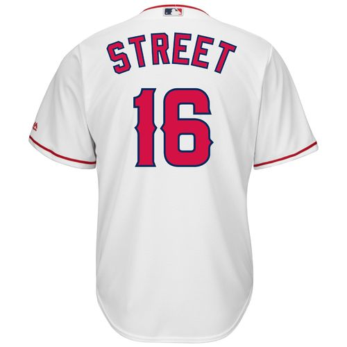 Wholesale Majestic Men's Los Angeles Angels of Anaheim Huston Street #16 Cool Base Replica Jersey supplier