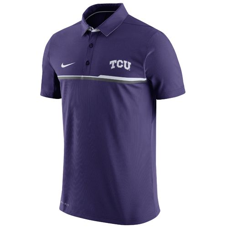 Nike Men's Texas Christian University Elite Polo Shirt