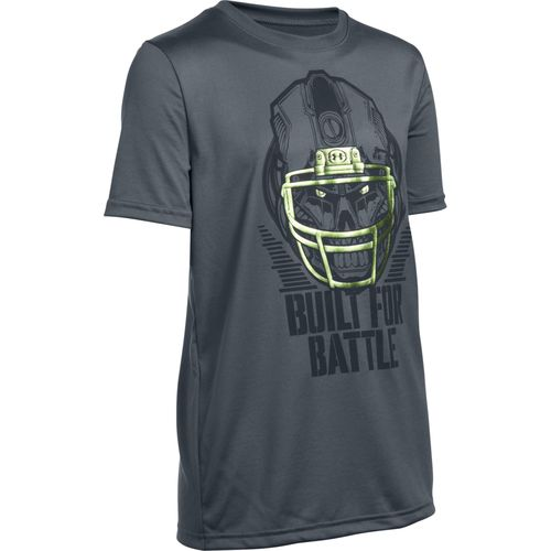 Under Armour® Boys' Battle Helmet T-shirt