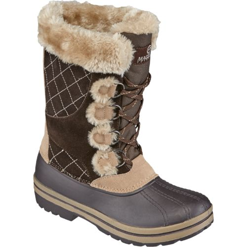 Magellan Outdoors Women's Suede Pac II Boots - view number 2