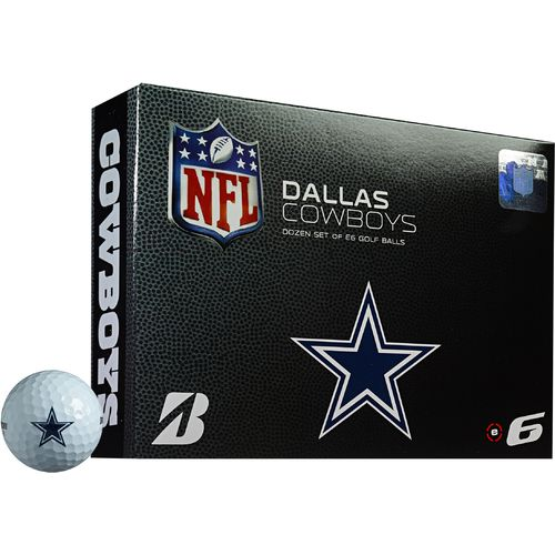 Bridgestone Golf Dallas Cowboys e6 Golf Balls 12-Pack