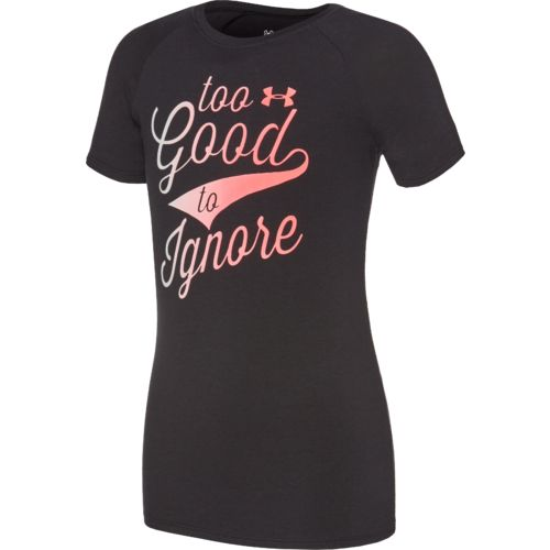 Under Armour Girls' Too Good to Ignore Short Sleeve T-shirt - view number 1