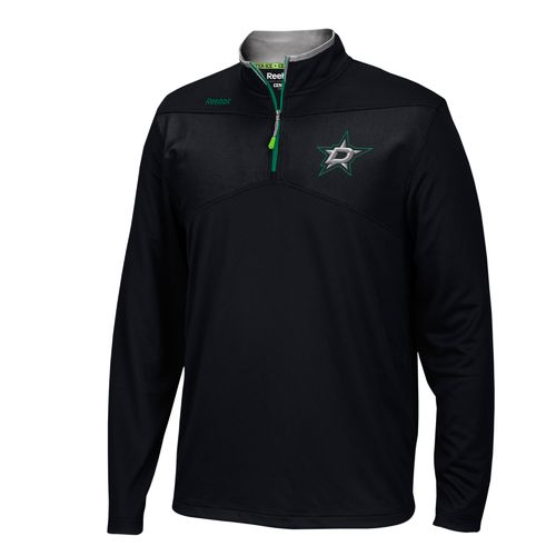Reebok Men's Dallas Stars Center Ice® 1/4 Zip Top