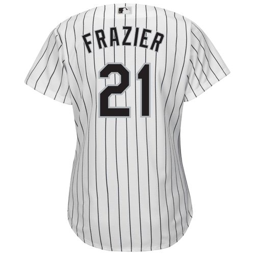 Majestic Women's Chicago White Sox Todd Frazier #21 Cool Base Replica Home Jersey - view number 1