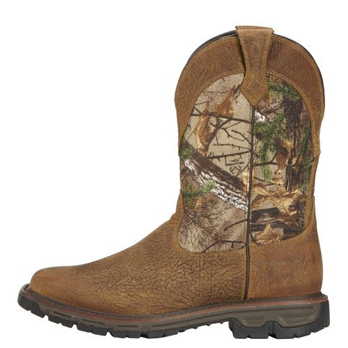 Ariat Men's Conquest H2O Hunting Boots (Brush Brown, Size 9) - Hunting Boots at Academy Sports thumbnail
