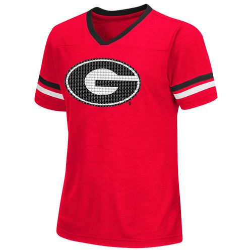 Colosseum Athletics™ Girls' University of Georgia Titanium T-shirt