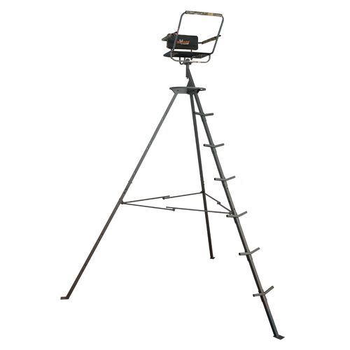 Display product reviews for Big Game Treestands Pursuit 12' Portable Tripod