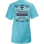 Three Squared Juniors' University of Tennessee Flora T-shirt