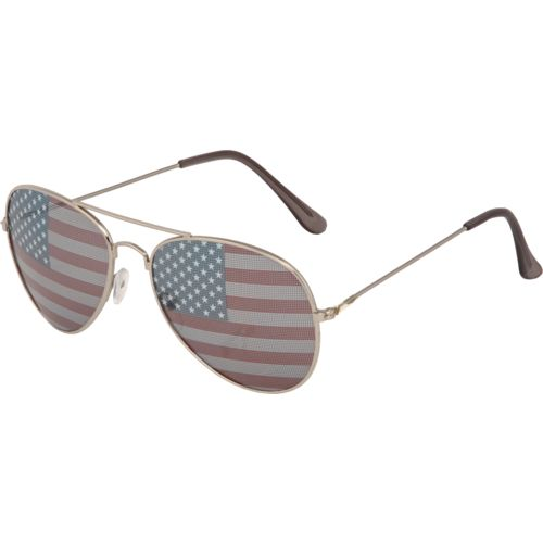 Foster Grant Men's Fashion-Surge Stars and Stripes Aviator
