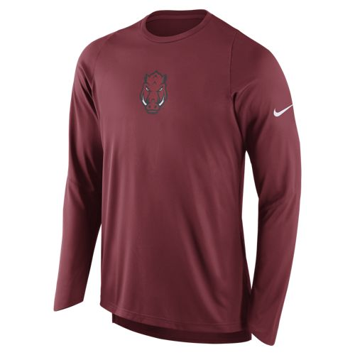 Nike Men's University of Arkansas Long Sleeve Shooter T-shirt