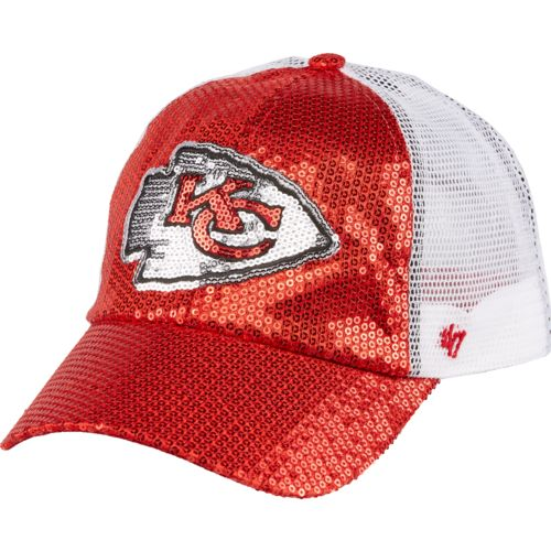 '47 Kansas City Chiefs Women's Dazzle Mesh Clean-Up Cap