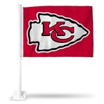 Rico Kansas City Chiefs Arrowhead Car Flag - view number 1