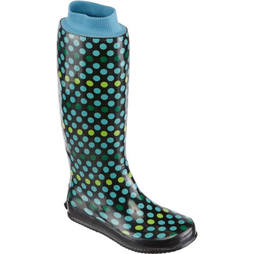 Austin Trading Co.™ Women's Packaboot Polka-Dot Rubber Boots