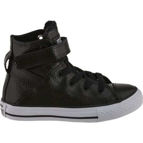 Converse Girls' Chuck Taylor All Star Stingray Metallic Brea High-Top Shoes - view number 1