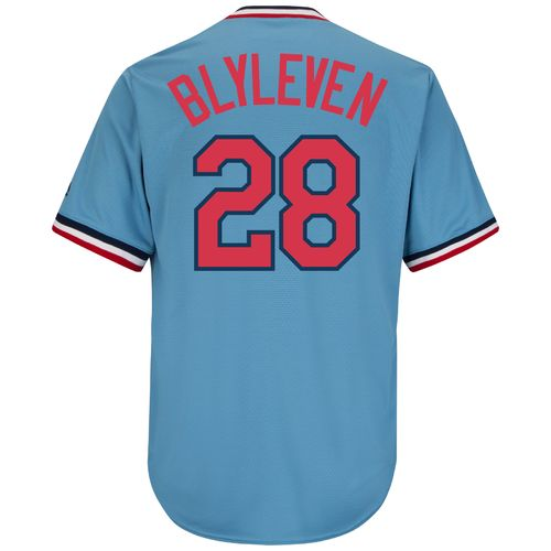 Majestic Men's Minnesota Twins Bert Blyleven #28 Cool Base Cooperstown Jersey - view number 2