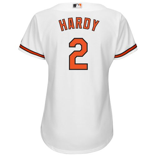 Majestic Women's Baltimore Orioles J.J. Hardy #2 Authentic Cool Base Home Jersey - view number 1