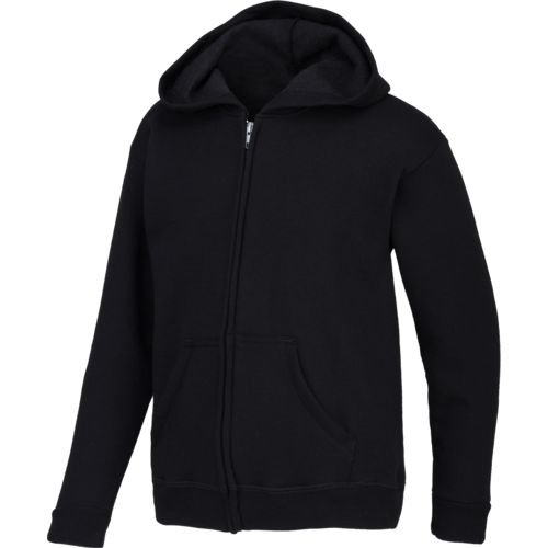 Hanes Youth ComfortSoft Full-Zip Fleece Hoodie