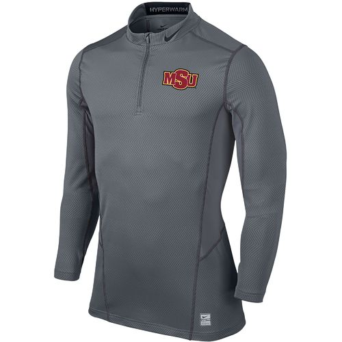 Nike™ Men's Midwestern State University Hyperwarm 1/4 Zip Pullover