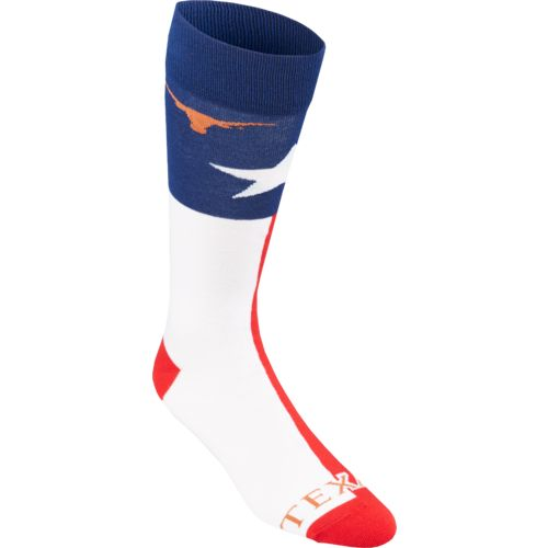 FBF Originals Adults' University of Texas Argyle Socks