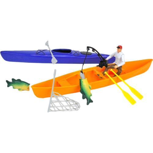 Tree House Kids Imagination Adventure Series Deluxe Fishing Accessory Playset