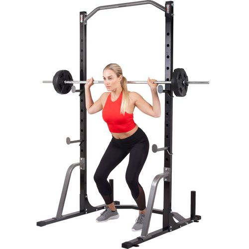 Body Champ Power Rack System with Olympic Weight