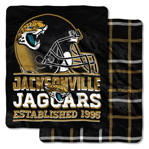 The Northwest Company Jacksonville Jaguars I-Cloud Throw