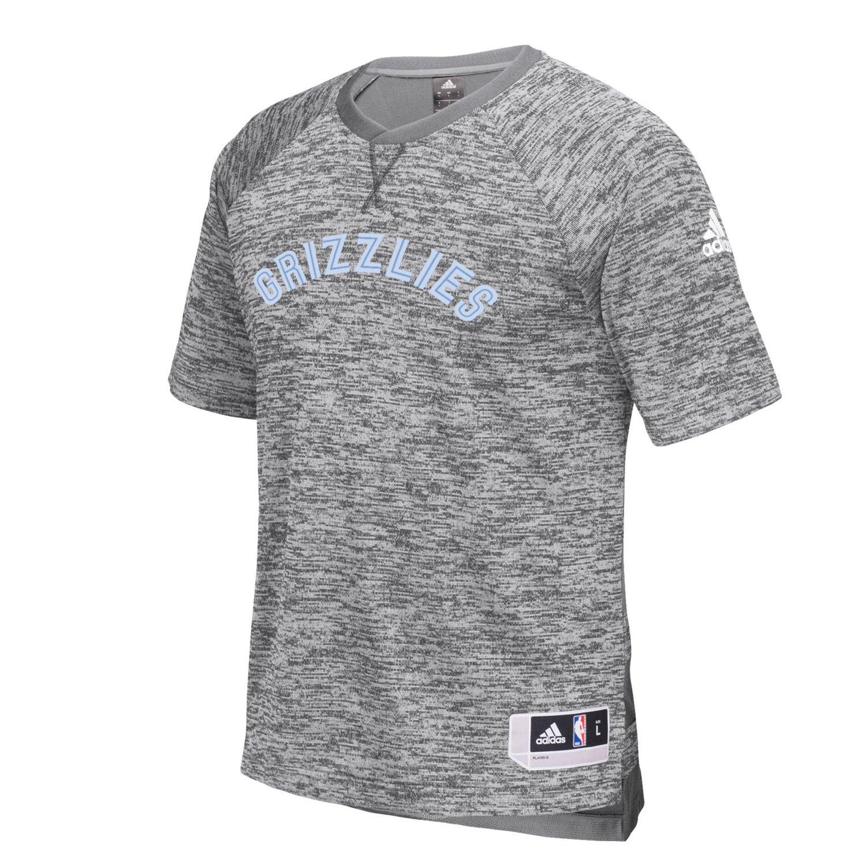 adidas™ Men's Memphis Grizzlies Short Sleeve Shooter T-shirt