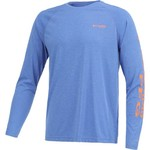 Columbia Sportswear Men's Terminal Tackle Heather Long Sleeve Shirt - view number 3