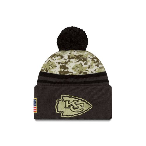 New Era Men's Kansas City Chiefs Salute to Service Knit Cap