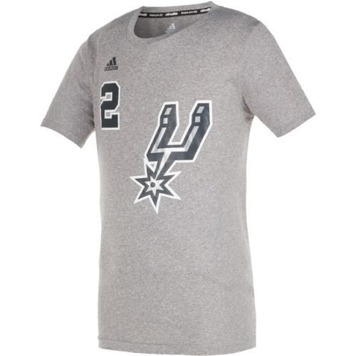 adidas™ Boys' San Antonio Spurs Kawhi Leonard #2 Flat Player T-shirt