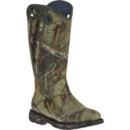 Ariat Men's Conquest Buckaroo Realtree Xtra® Rubber Hunting Boots ...