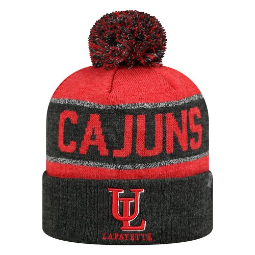 Top of the World Men's University of Louisiana at Lafayette Below Zero Cuffed Knit Cap