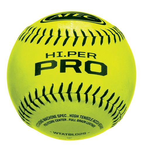 ATEC Hi.Per Pro Leather Flat-Seam Softballs 12-Pack