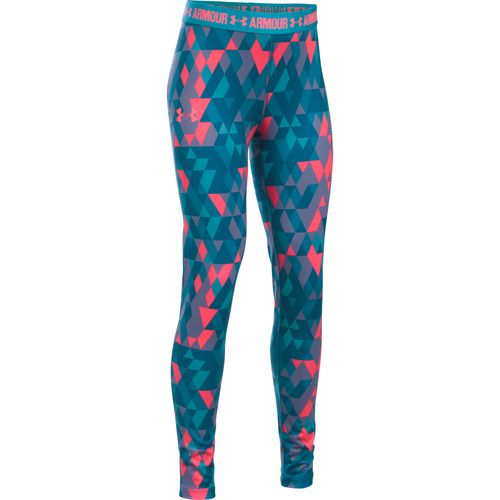 Under Armour® Girls' HeatGear® Printed Legging