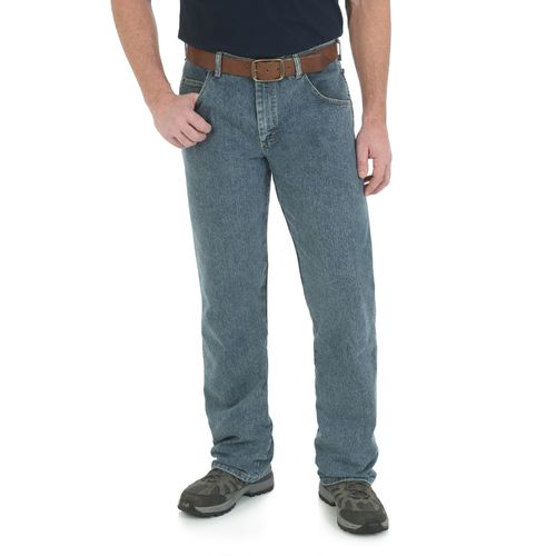 Wrangler Men's Rugged Wear Advanced Comfort Straight Fit Pant