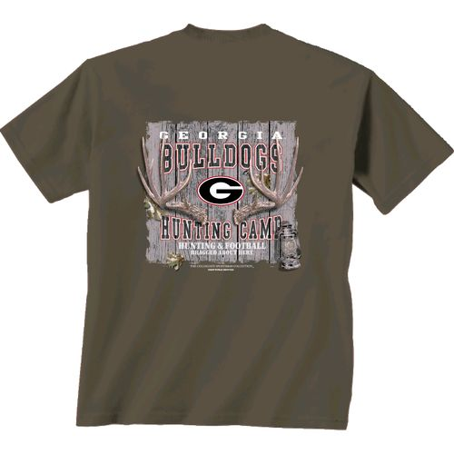 New World Graphics Men's University of Georgia Hunting Camp T-shirt