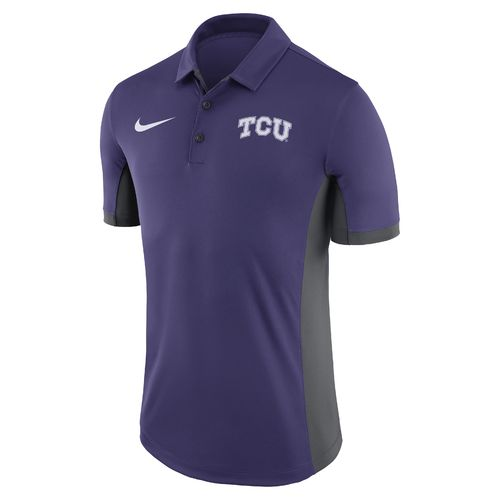 Nike™ Men's Texas Christian University Dri-FIT Evergreen Polo Shirt