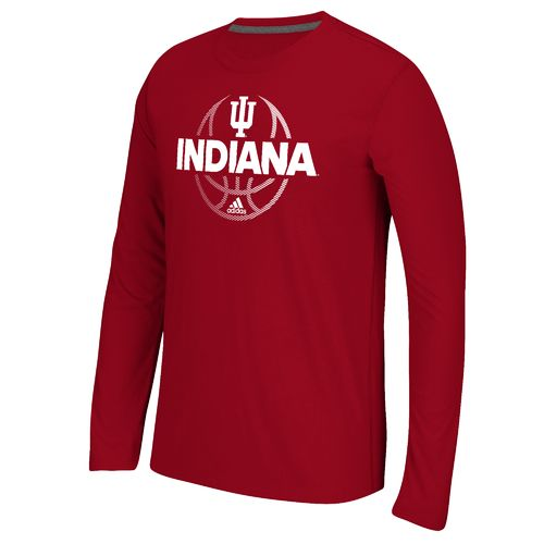 adidas™ Men's Indiana University Fade Away Ultimate Long Sleeve T-shirt