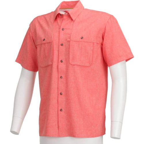 Magellan Outdoors Men's Backcountry Heather Short Sleeve Fishing Shirt
