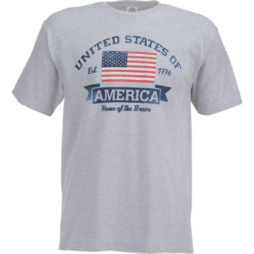 Academy Sports + Outdoors Men's USA Home of the Brave T-shirt