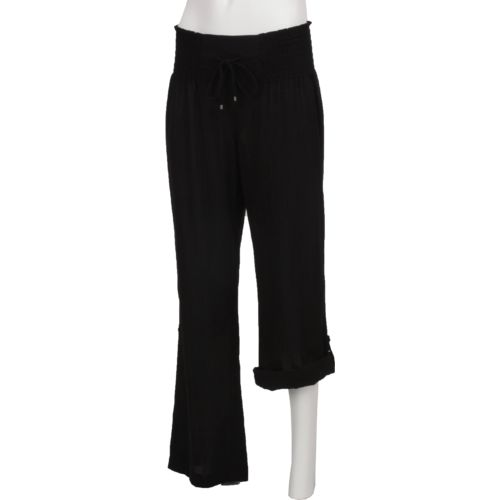 O'Rageous Women's Roll Up Gauze Pant