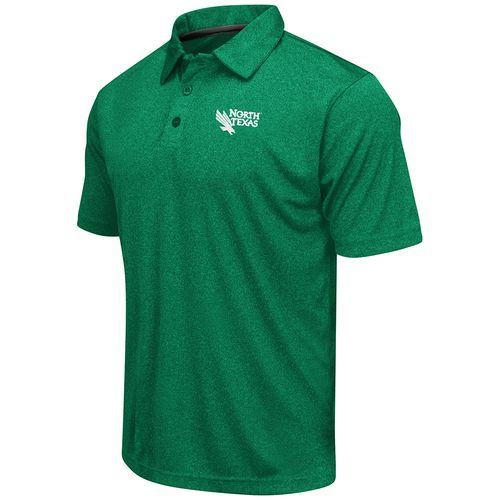 Colosseum Athletics™ Men's University of North Texas Academy Axis Polo Shirt - view number 1
