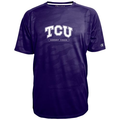Champion™ Men's Texas Christian University Impact Embossed T-shirt