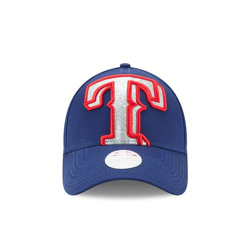 New Era Women's Texas Rangers 9FORTY Glitter Glam 3 Cap - view number 6
